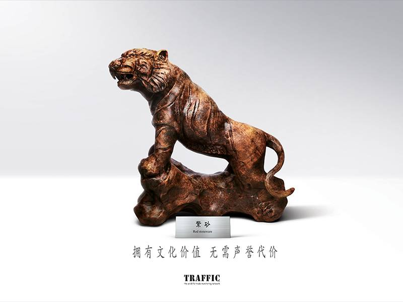 News -TRAFFIC: Key Visual for Green Collection Campaign: Tiger 绿色收藏主题宣传活动宣传品展示:老虎