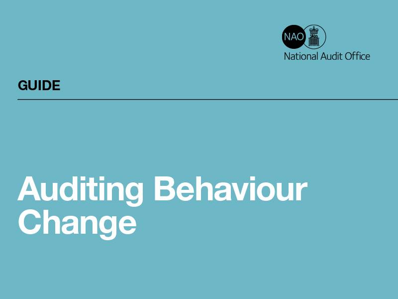 News -NSMC guide on auditing behaviour change in a Value For Money study
