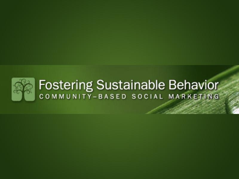 Sustainable consumer behaviour